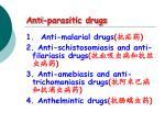 anti parasitic drugs1