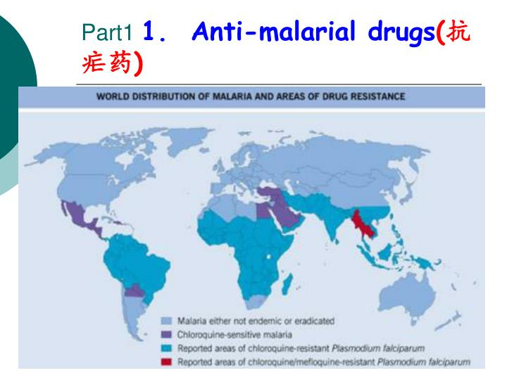 Part1 1 anti malarial drugs