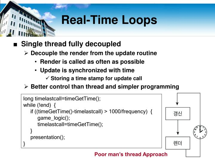 Real-Time Loops