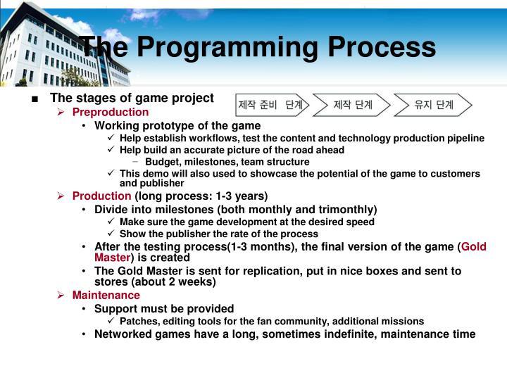 The Programming Process