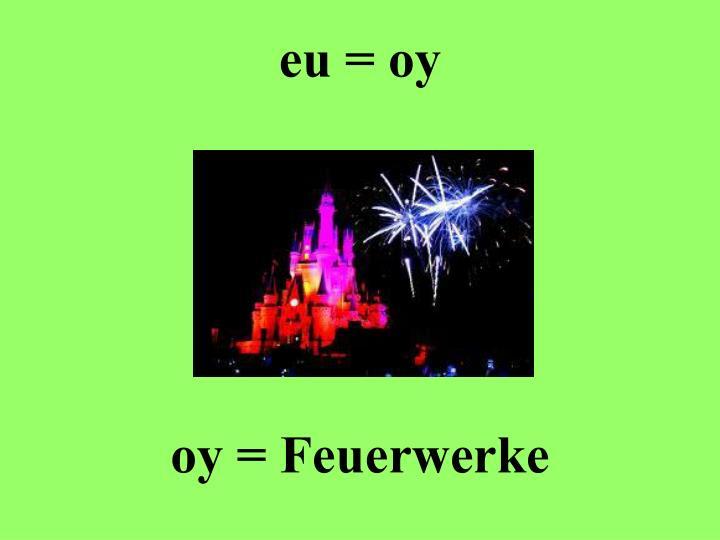 eu = oy