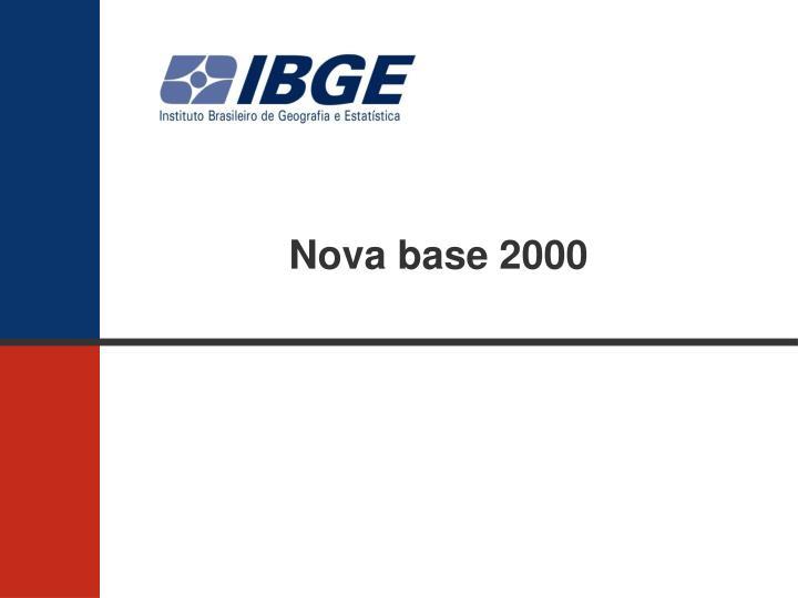 Nova base 2000