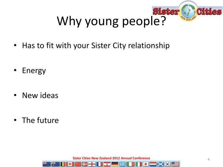 Why young people?