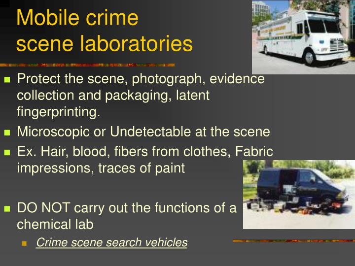 Mobile crime
