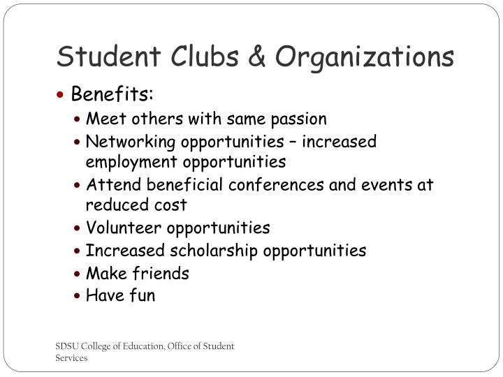 Student Clubs & Organizations