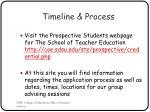 timeline process