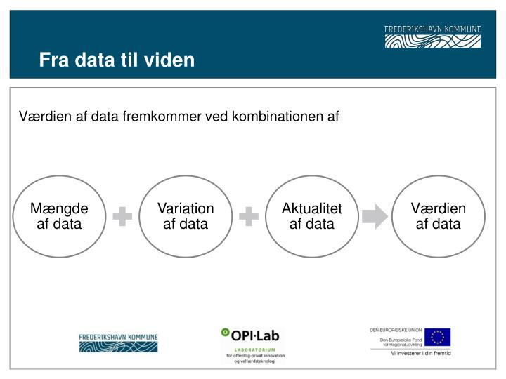 Fra data til viden