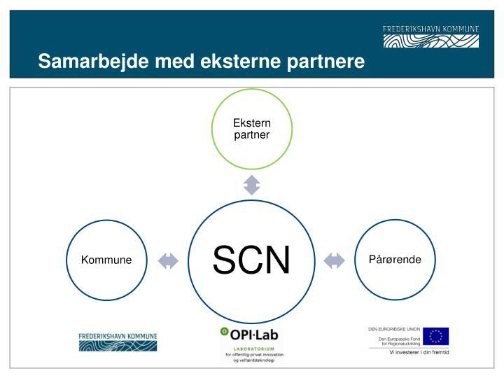 Samarbejde med eksterne partnere