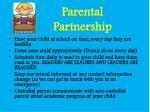 parental partnership