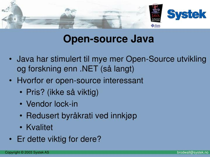 Open-source Java