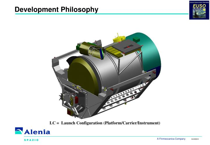 Development Philosophy