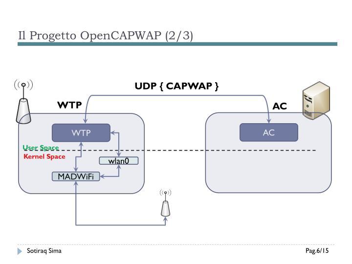 Il Progetto OpenCAPWAP (2/3)