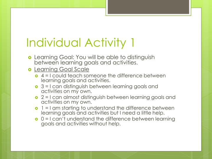 Individual Activity 1