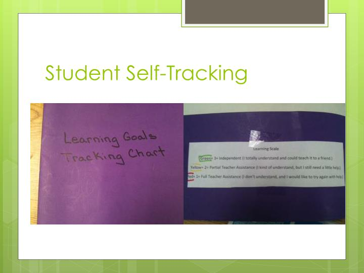 Student Self-Tracking