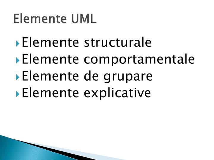 Elemente UML