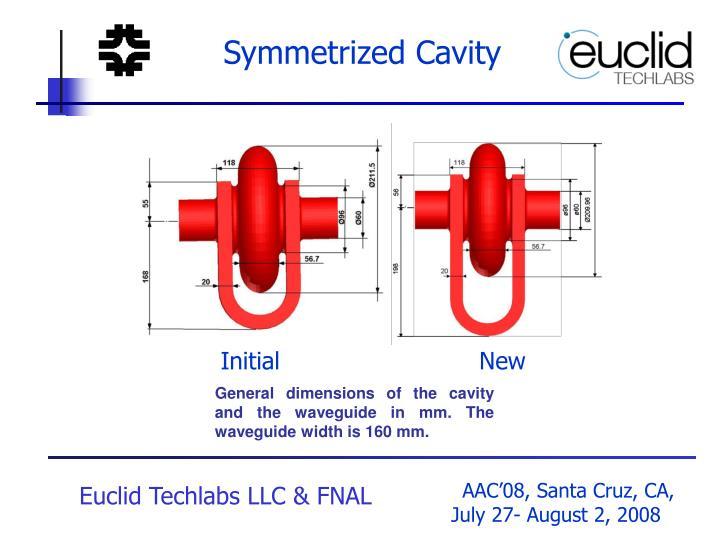Symmetrized Cavity