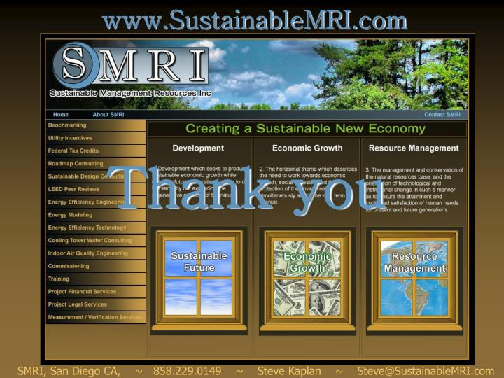 www.SustainableMRI.com