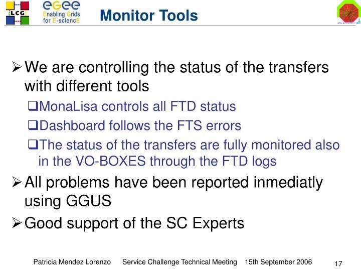 Monitor Tools