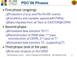 pdc 06 phases