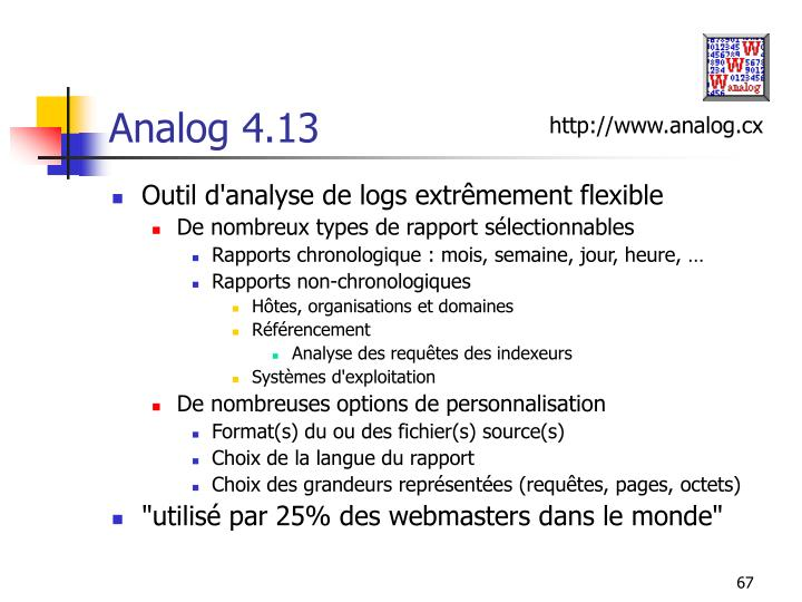 Analog 4.13