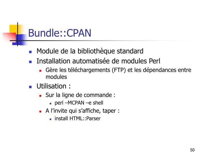 Bundle::CPAN