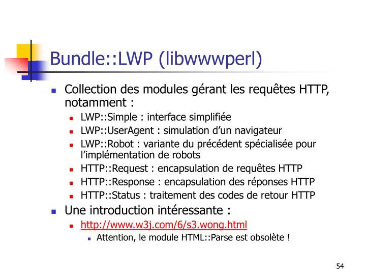 Bundle::LWP (libwwwperl)