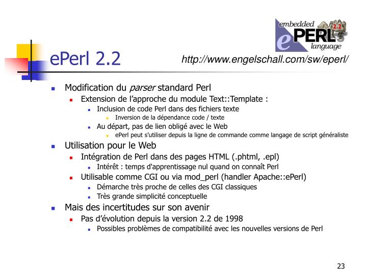 ePerl 2.2