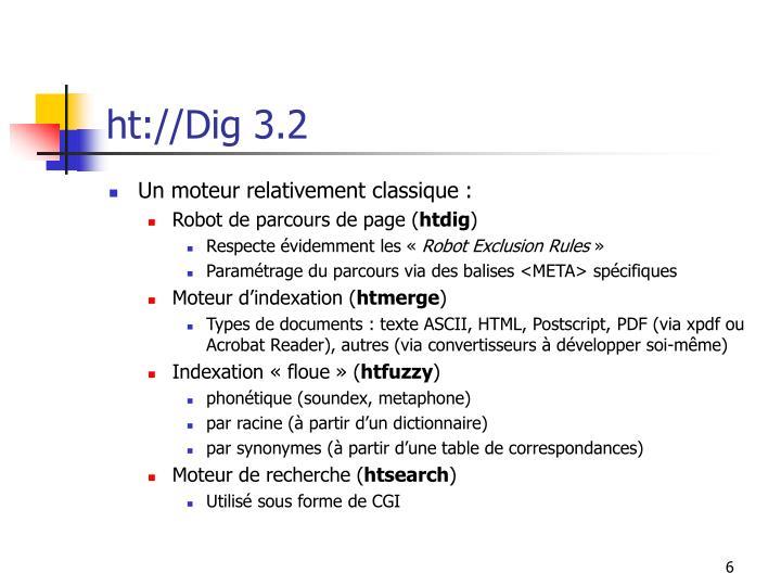 ht://Dig 3.2