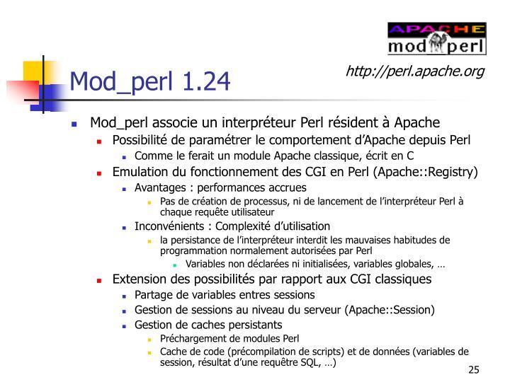 Mod_perl 1.24
