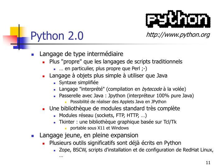 Python 2.0