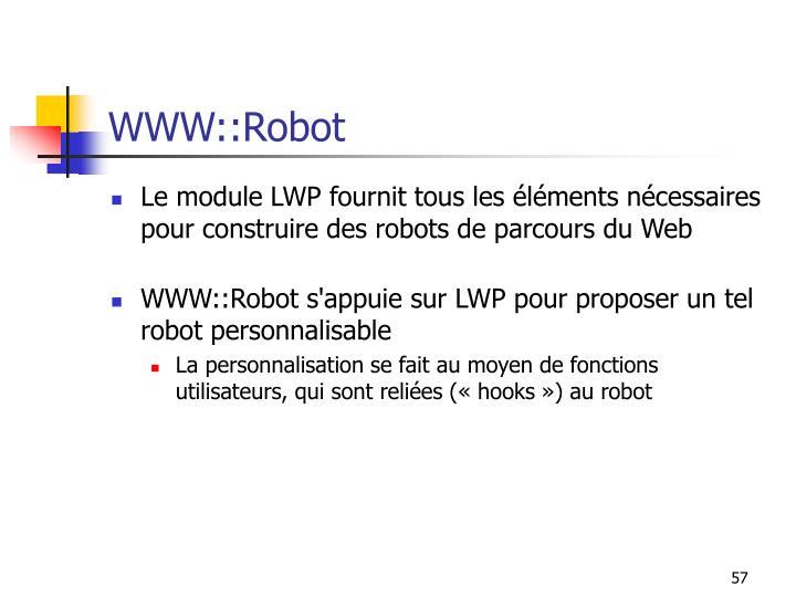 WWW::Robot