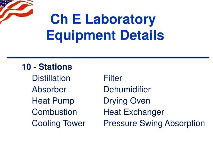Ch E Laboratory