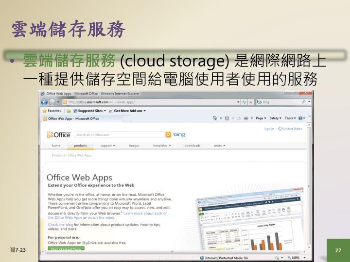 雲端儲存服務