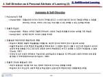 4 self direction as a personal attribute of learning 3