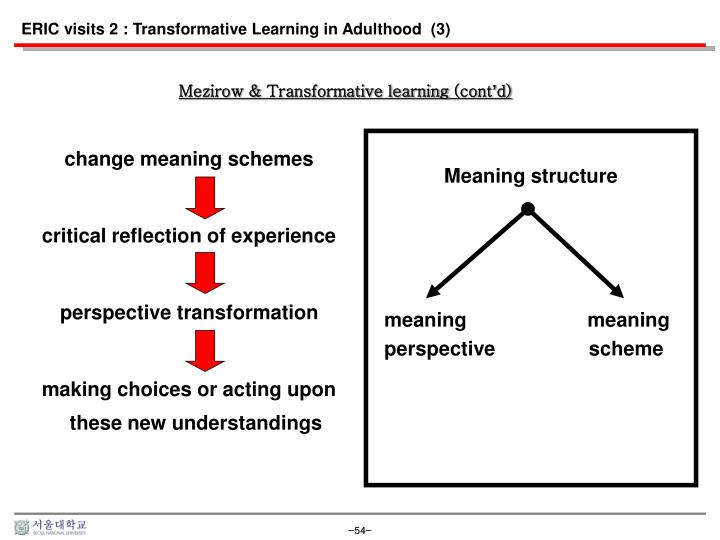ERIC visits 2 : Transformative Learning in Adulthood  (3)
