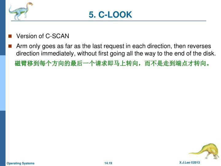 5. C-LOOK