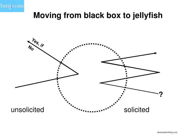 Moving from black box to jellyfish