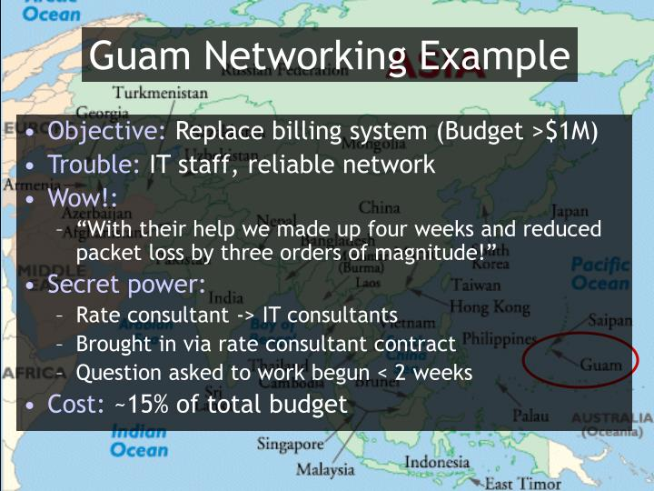 Guam Networking Example