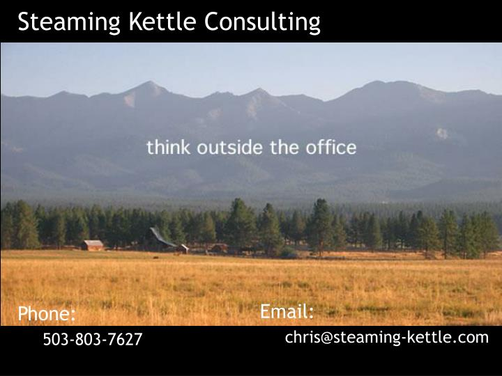 Steaming Kettle Consulting