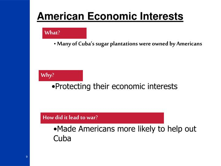 American Economic Interests