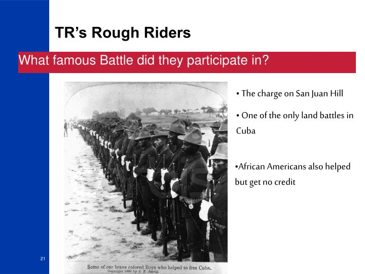 TR's Rough Riders