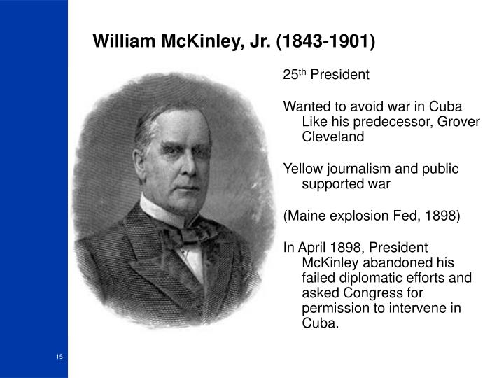 William McKinley, Jr. (1843-1901)