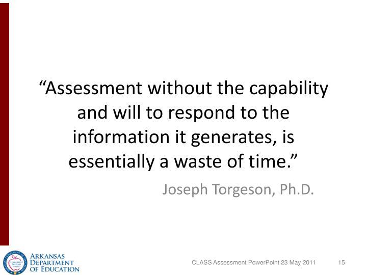 """""""Assessment"""