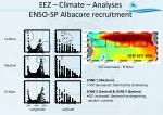eez climate analyses enso sp albacore recruitment