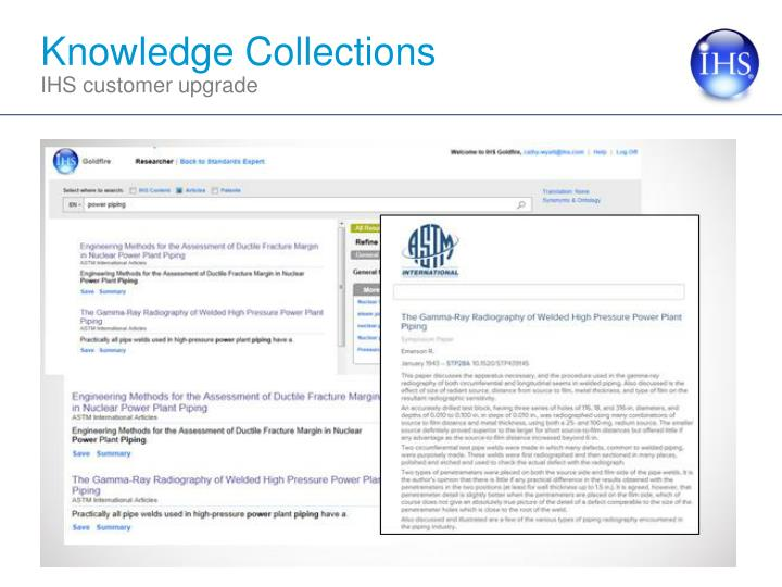 Knowledge Collections