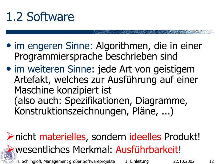 1.2 Software