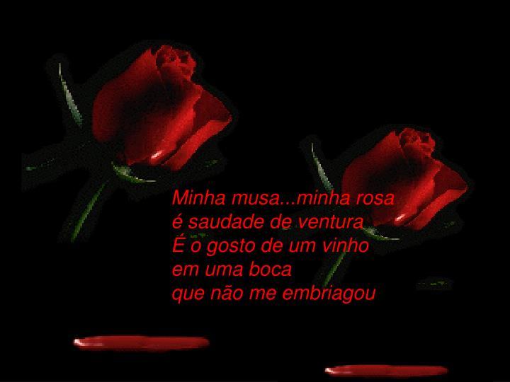 Minha musa...minha rosa