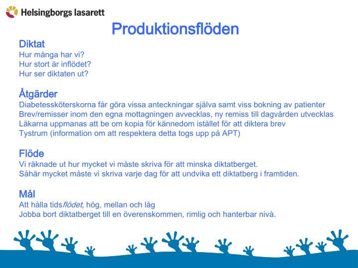 Produktionsflöden