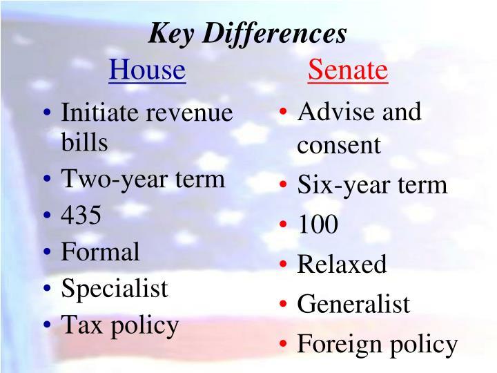 Initiate revenue bills