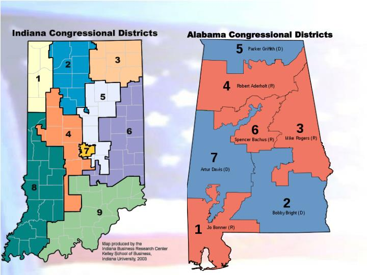 Alabama Congressional Districts